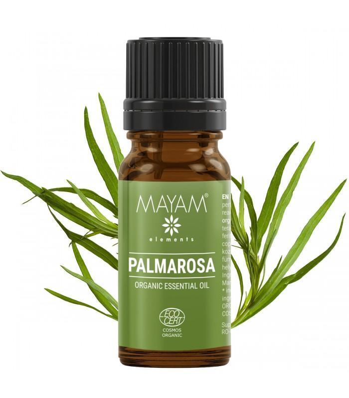 Palmarosa esenciálny olej, cymbopogon martini