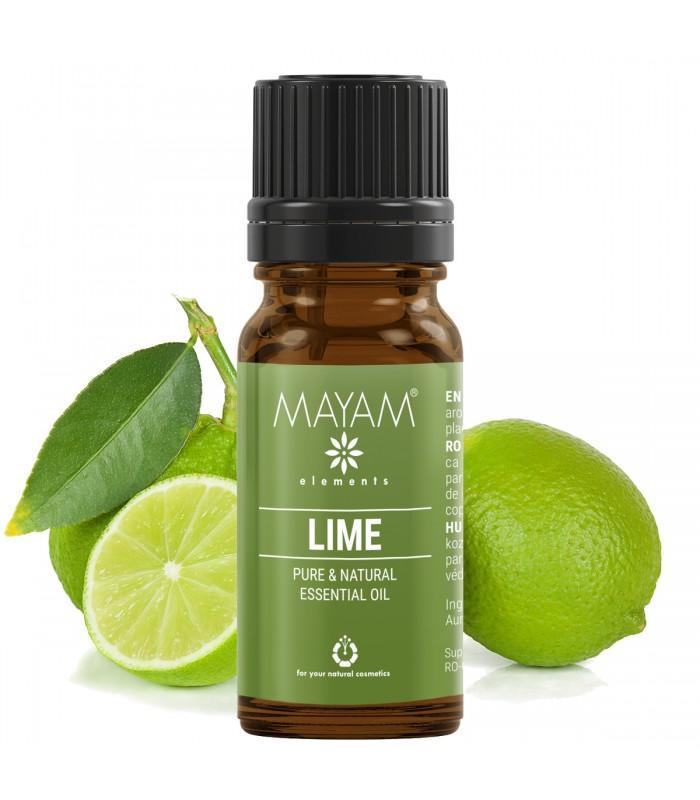 Limetkový esenciálny olej