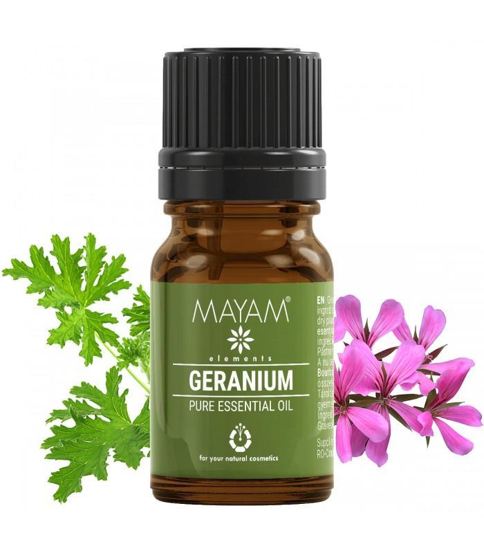 Geranium esenciálny olej, Muškátový