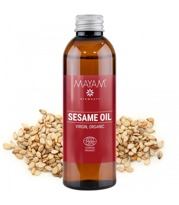 Sezamový  olej Bio, panenský