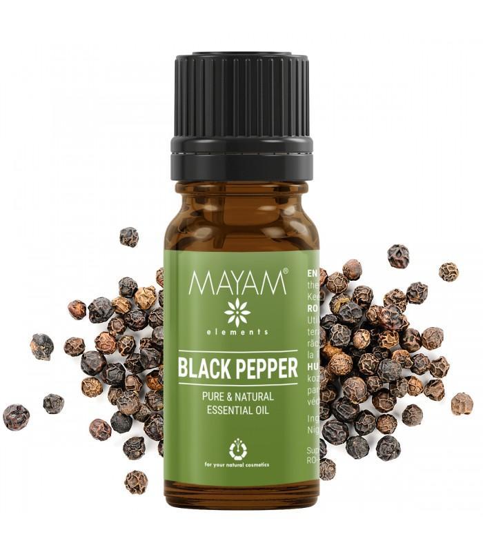 Esenciálny olej z čierneho korenia