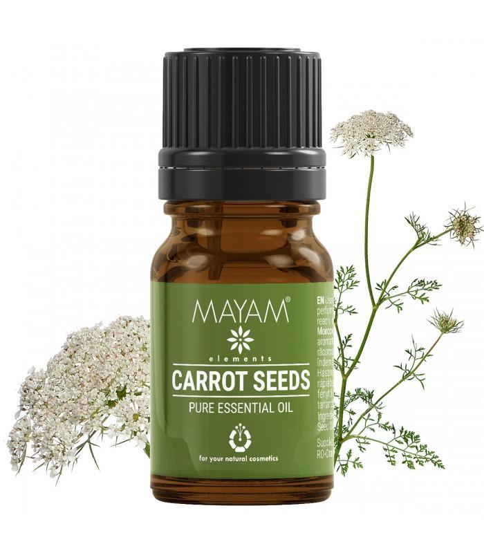 Esenciálny olej z mrvkvových semien