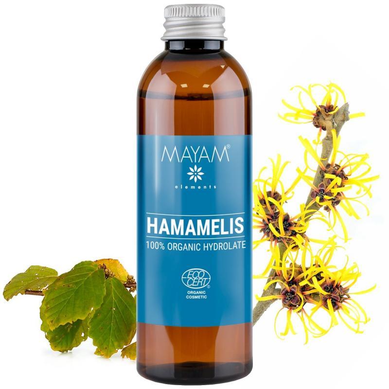 Hamamelisova voda, hydrolát